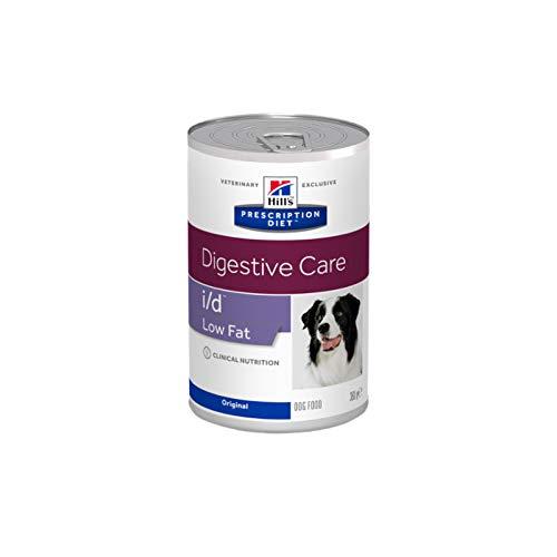 prescription diet i/d low fat canine mangime umido 12 lattine da 360 g
