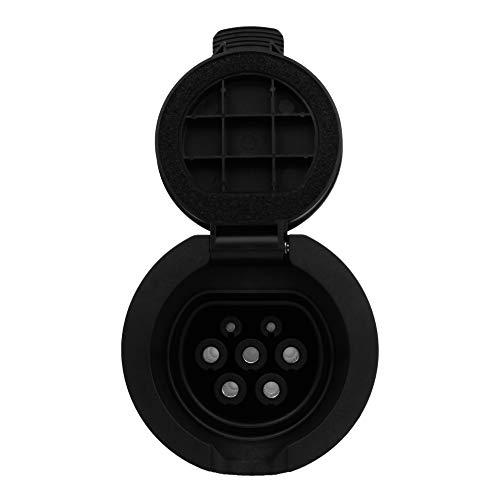 Preis-Zone Elektroauto Aufladung Steckdose für Wallbox Ladestation Typ 2 32A 480V 5P Klappdeckel Weiblich Ladedose DGN 3305