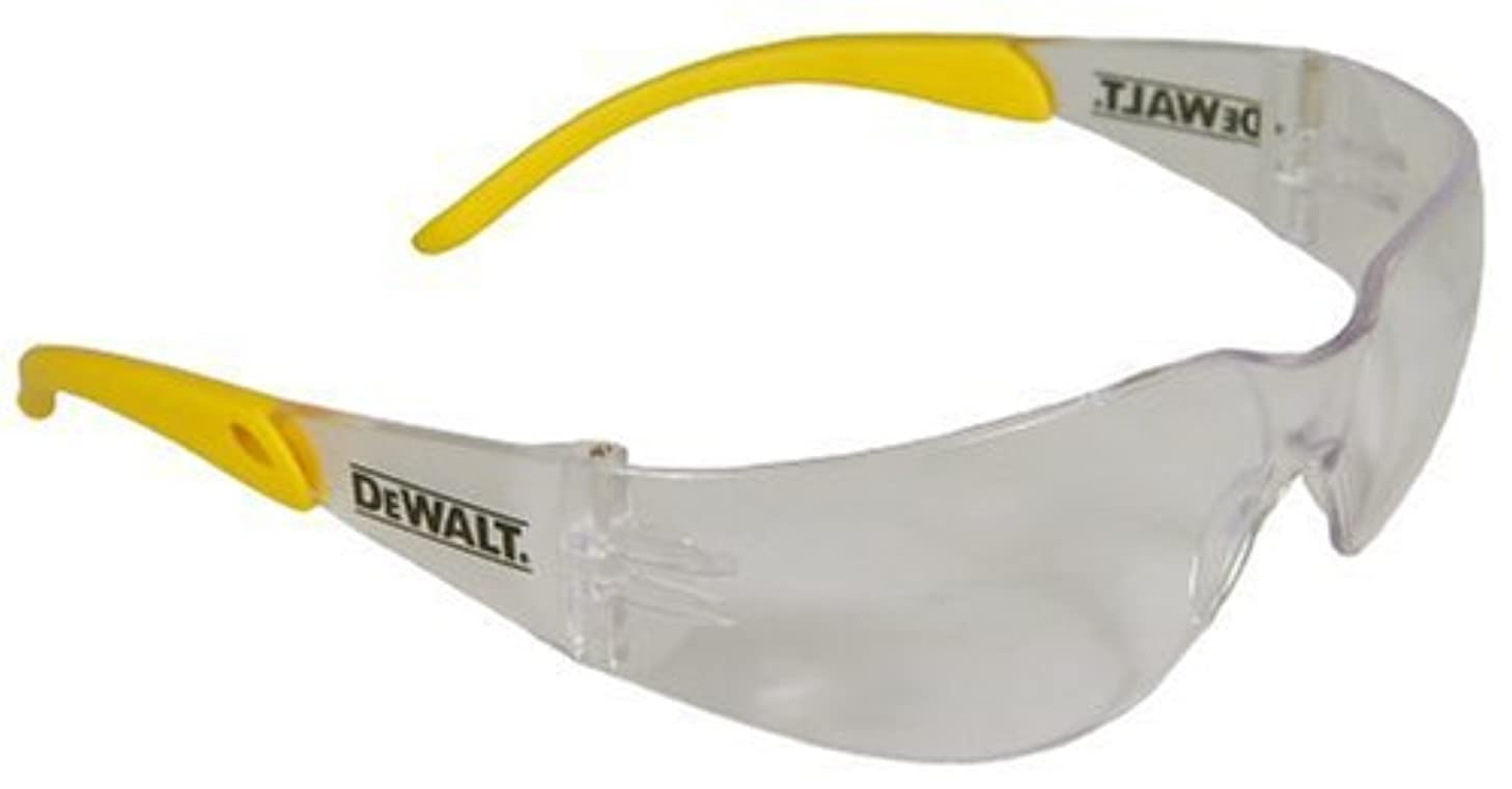 Dewalt DPG54-9C Protector Indoor/Outdoor High Performance Lightweight Protective Safety Glasses with Wraparound Frame