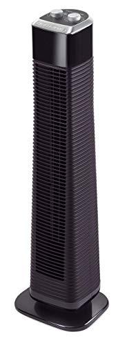 Rowenta Classic Tower VU6140F0 Ventilador de torre de pie de 80 cm con 3 velocidades, oscilación y temporizador hasta 2 horas (Reacondicionado)