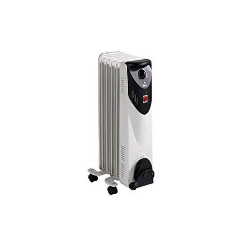FM BR10 Calefacción BR-10 (Radiador de Aceite 5 Elementos 1000W)