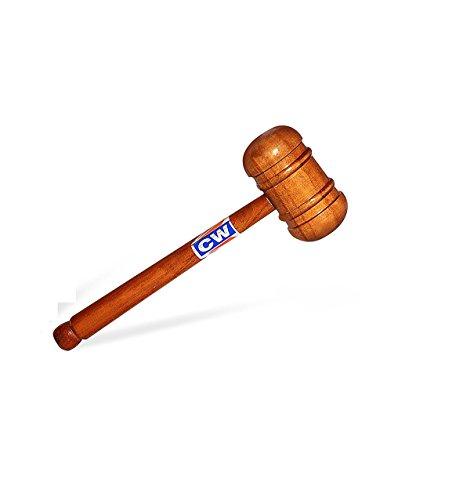 3M CW New Cricket Knocking in Hammer Fledermaus Vorbereitung Doppelseitig Holzhammer (für Knocking-in Englisch/Kaschmir Weide Cricketschläger) von