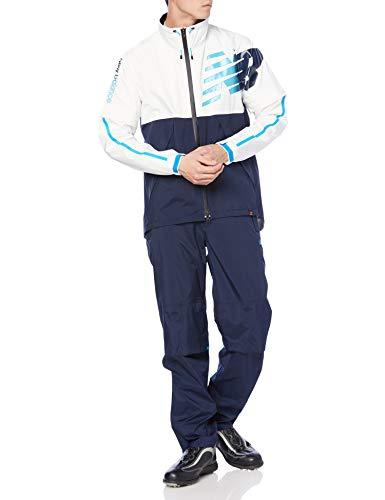 [ニューバランス ゴルフ] [メンズ] セットアップ レインウェアー 【継続定番商品】(ストレッチ・防水性・透湿性・防風性) / 雨 ゴルフ / 012-1988001 120_ネイビーxホワイト 6 [LL]