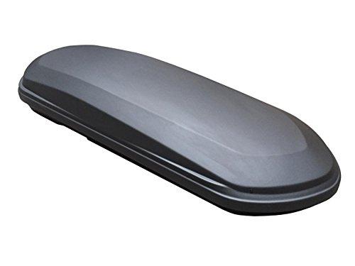 Dakkoffer VDP-MAB500 dakkoffer tot 75 kg autokoffer afsluitbaar 500 liter mat zwart