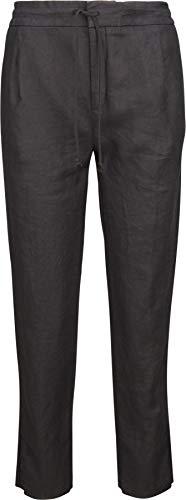 Drykorn Damen Hose aus Leinen in Schwarz 28