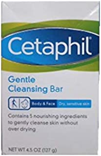 Cetaphil Gentle Cleansing Bar, 4.5 Ounce