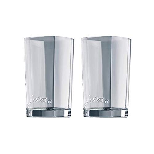 Jura 65037 69000 Latte-Macchiato-Gläser 2-er Set, Circa 10,9 cm