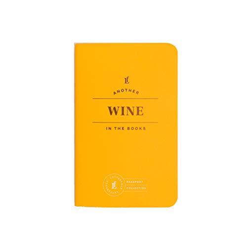 Wine Passport Journal — Pocket-Sized Wine Tasting Book (3.5' W x 5.5' H) by Letterfolk