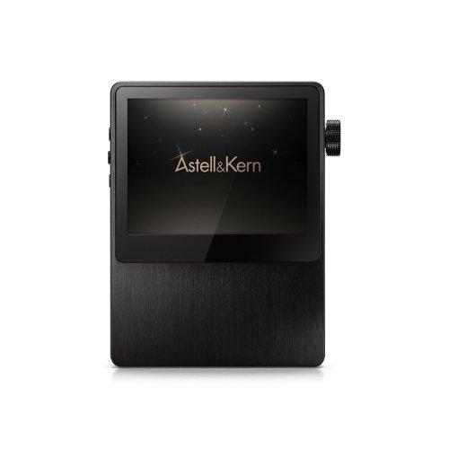 Astell&Kern AK100 MKII Lautsprechersystem, tragbar, gebürstetes Aluminium, Schwarz