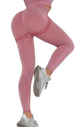 CMTOP Anticellulite Leggings Sportivi Donna Vita Alta Pantaloni Sportivi Yoga Pants Push Up per Correre Fitness Calzamaglie e Leggings Sportivi Pantaloni Fitness Leggins Sexy Alta Elastico Pants
