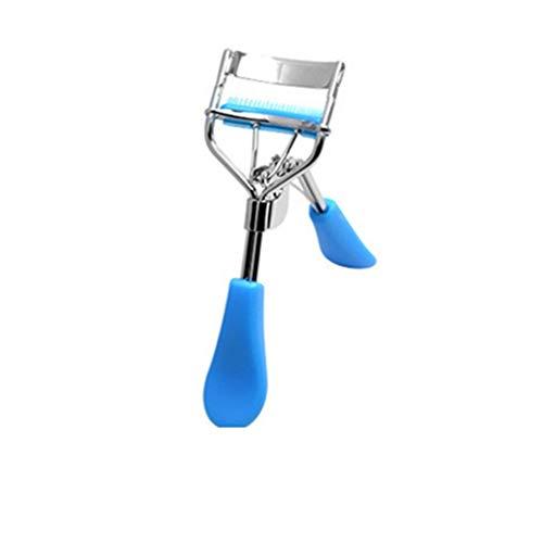 Bigodino per ciglia finte Clip di ciglia finte Strumento per il trucco Comfort multifunzione Acciaio al carbonio Trucchi Accessori blue