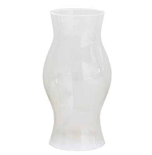 zeitzone Windlichtglas ohne Boden Klar Windlicht Offen Glaszylinder Hurricane Höhe 21 cm