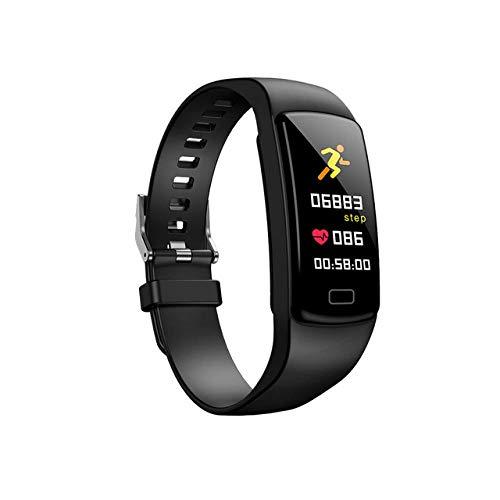 Oyznsb Smartwatch met Bluetooth-functie, smartwatch, armband voor kinderen en jongens, Zwart