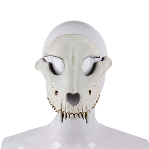 Mingfa Unisex Schurken Kostüm Party Ball Halloween Fasching Gras Gesicht Schaf Schädel Maske