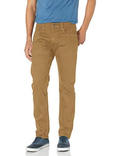 Levi's 502 Pantalón ajustado regular para hombre - Marrón - 34W x 34L
