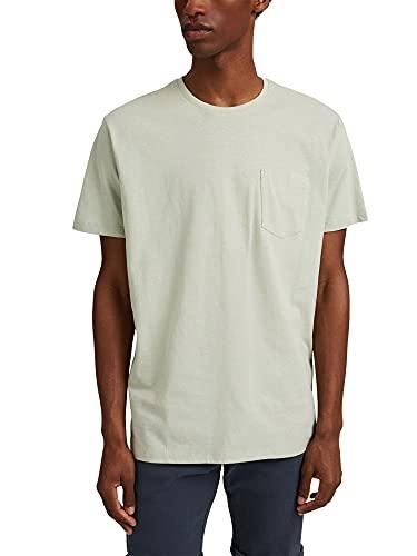Esprit 041EE2K304 T-Shirt, 340/PASTEL Green, XL Homme