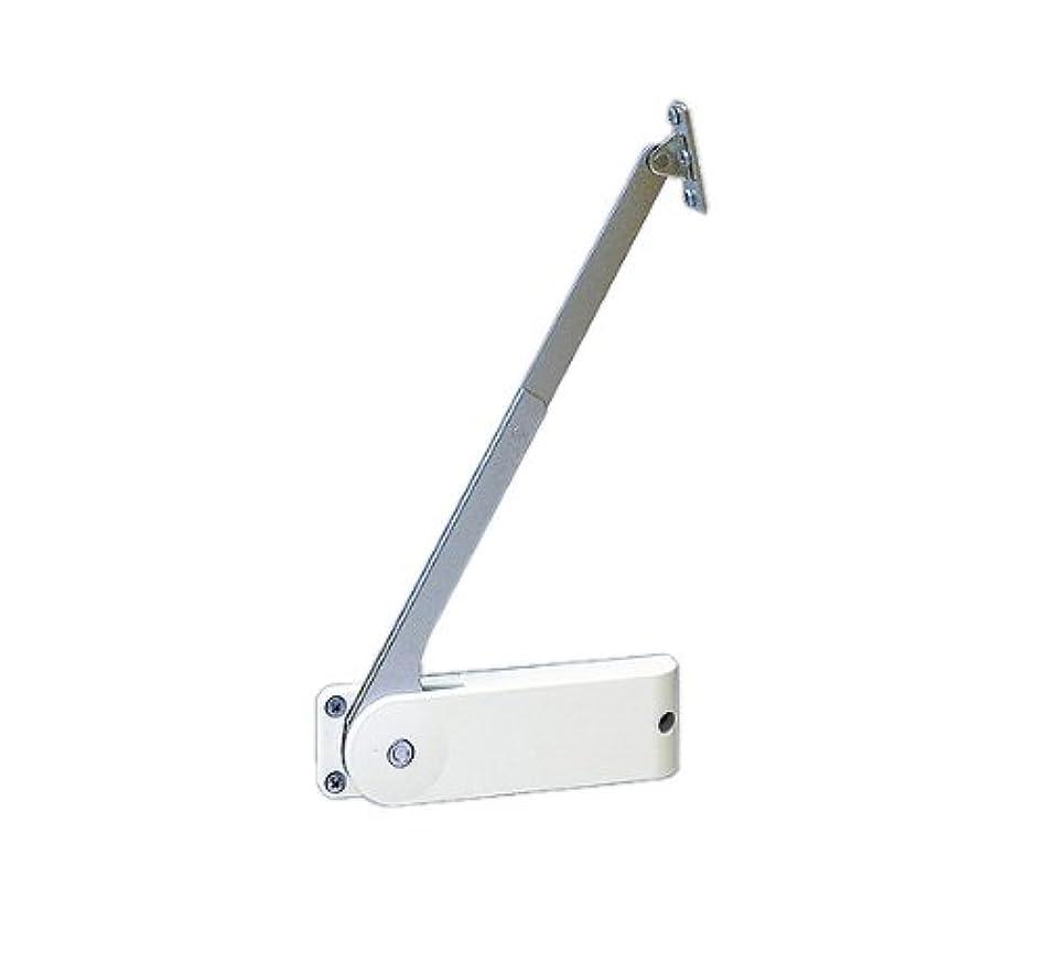 愛するする必要があるインスタントスガツネ工業 ランプ印 ソフトダウンステー 重量扉用 HDS-20型 (2本使い用) 左用 HDS-20HL-WT
