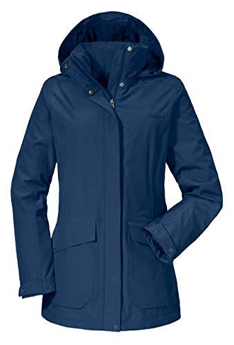 Schöffel Damen Jacket Victoria2 Jacken, Blau (Dress Blues), 38