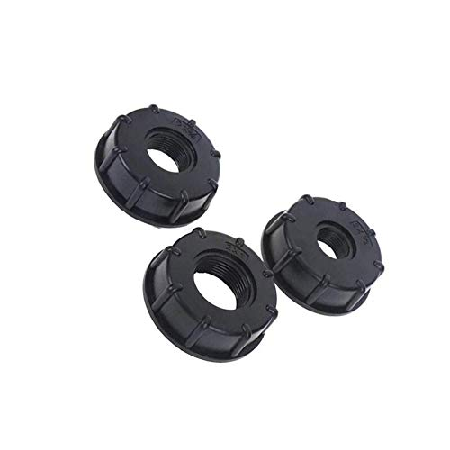 """yaohuishanghang 10pcs 1/2"""" 3/4"""" 1"""" Female Thread IBC Tank Adapter Water Tap Connectors Valve Replacement Fittings Garden Irrigation Connection Tools (Color : 1pcs, Diameter : 1 inch)"""