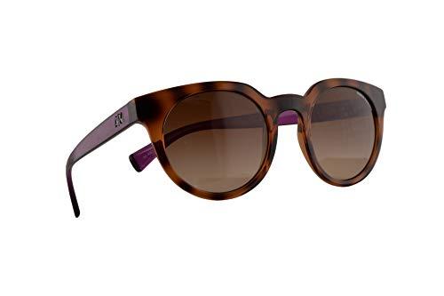 Armani Exchange AX4062S zonnebril, transparant, champagne, bruin, met bruine glazen 821513 AX 4062S