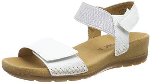 Gabor Shoes Damen Gabor Jollys Riemchensandalen, Weiß (Weiß 21), 37 EU