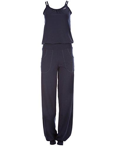 Winshape Damen Jumpsuit WJS1, Fitness Freizeit Sport Yoga Pilates, night-blue, XL