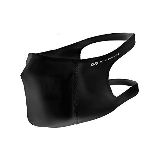McDavid Unisex-Adult Sport Face Mask Headband, Schwarz, M