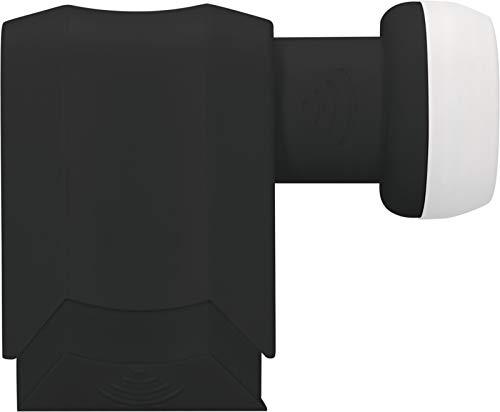 TechniSat Universal-Octo-LNB für 8 Teilnehmer (40 mm Feedaufnahme, F-Stecker, LTE störsicher) Schwarz