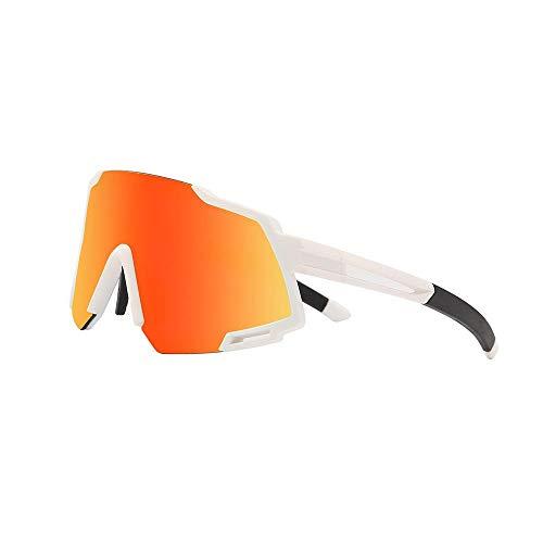 Mazu Homee Gafas de ciclismo polarizadas Deportes al aire libre Bicicletas Gafas de equitación a prueba de viento Equitación fluiring (opcional)