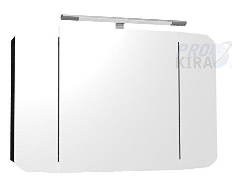PELIPAL Cassca Spiegelschrank inkl. Beleuchtung/CS-SPS 04 / Comfort N/B: 100 cm
