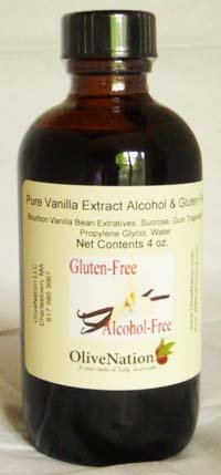 OliveNation Vanilla Extract - 2 ounces - Gluten-free, Sugar-free - Premium Quality Flavoring Extract For Baking