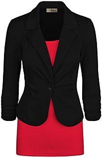 HyBrid & Company Womens Casual Work Office Blazer Jacket...