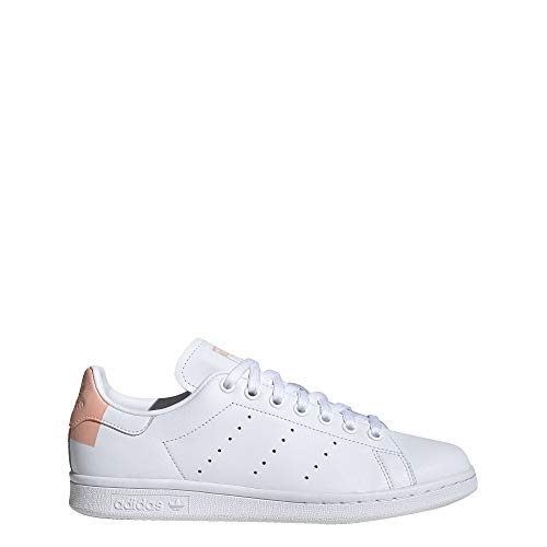 adidas Womens Stan Smith Lace Up Sneakers Shoes Casual - White - Size 9 B