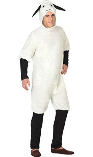 ATOSA disfraz oveja hombre adulto M