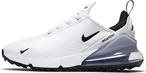 Nike Air Max 270 G, Scarpe per Jogging su Strada Unisex-Adulto, White/Black-Pure Platinum, 44 EU