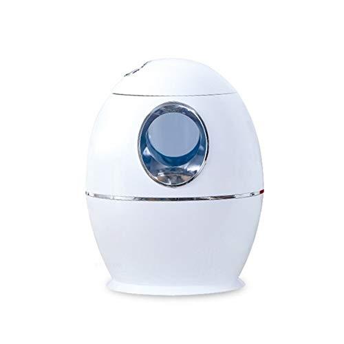 XiaoXiao 800 ml ultrasónico Humidificador de Aire del Aroma de aceites Esenciales difusor Más Fresco con luz LED for Ministerio del Interior humidificadores (Color : White)