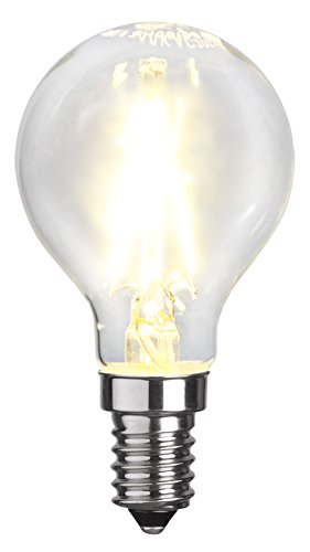 Star tuindecoratie, filament LED, E14, 2700 K, 80 Ra, A+, transparant, 4,5 x 4,5 x 8,3 cm, 352-18