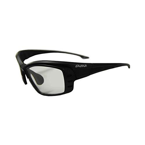 EASSUN Gafas de Ciclismo y Running Pro RX Graduables - Negro Brillante