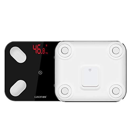GASON S4 balanza digital de 13 idiomas con LED electrónico inteligente, balanza de peso digital