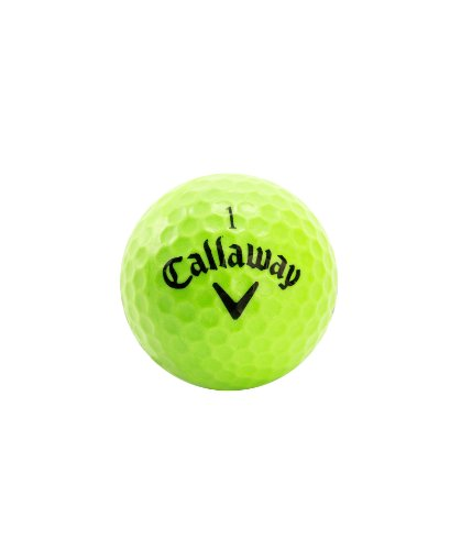 Callaway HX Soft-Flight Practice Golf Balls, Green 9-Pack