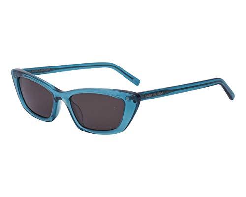 Yves Saint Laurent Sonnenbrillen (SL-277 008) blau kristall - grau