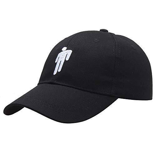 JFAN Gorra de Béisbol con Logo de Billie Eilish Sombrero para Hombres y Mujeres Sun al Aire Libre