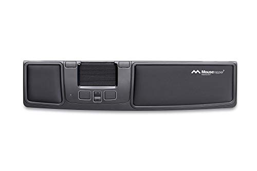 Mousetrapper Advance 2.0+ Ergonomic USB Trackpad with 6 Customizable Macro Keys and Wrist Rests