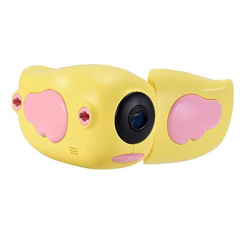 Cámara De Video De Fotos Digitales para Niños - Mini DV 1080P Vlogging Camcorder Educación Juguetes para Niños,Amarillo,Standard