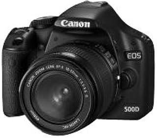 Canon EOS 500D SLR Digitalkamera (15 MP, LiveView, HD Video, inkl. 18 55mm IS Kit, bildstabilisiert)