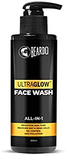 BEARDO Ultraglow Facewash For Men, 100 ml