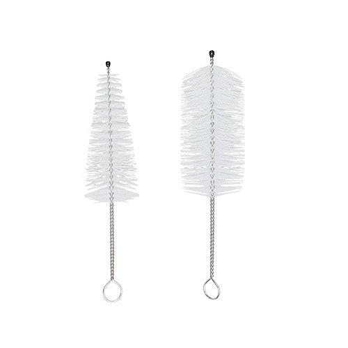 2Stück Messing Mundstück Bürste–Reinigungsbürste für Trompeten, Kornett & Posaune
