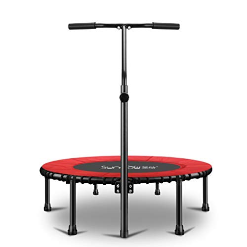 Xuping Household Trampoline Exercise Weight Loss Trampoline Gym Adult Children Indoor Bounce Bed Outdoor Trampoline (Color : Red, Size : B)