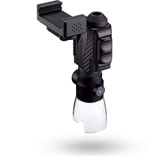 Pentax 63621 Monocular VM 6x21 WP - Kit Completo Incluye un Adaptador para Smartphone y Soporte Macro Junto con un monocular de Aumento Brillante y Claro 6X con excelente Rendimiento óptico. Black