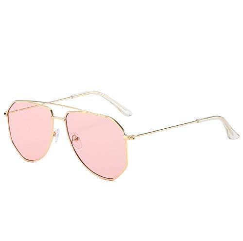 ZZZXX Gafas De Sol Polarizadas Estilo Aviador Unisex Gafas De Sol Poligonales Irregulares Golf De Pesca Ciclismo El Golf Conducción Pescar Alpinismo Deportes Al Aire Libre Gafas De Sol